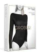 OROBLU Divine Body Boatneck Longsleeve superweiches Stretch Gr. S/M M/L L/XL