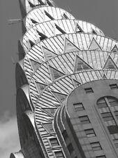 CHRYSLER BUILDING ART PRINT - Chrysler Detail by Chris Bliss ART POSTER 19x13