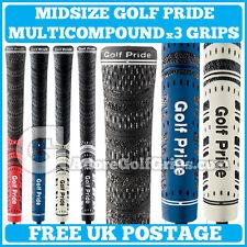 Golf Pride New Decade MultiCompound / Multi Compound Midsize - All Colours x 3