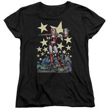 Batman DC Comics Superhero Harley Quinn Derby Girl Hammer Women's T-Shirt Tee