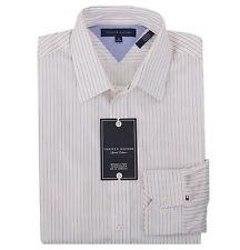 Tommy Hilfiger Men's Long Sleeve Button-Down Stripe Dress Shirt - $0 Free Ship