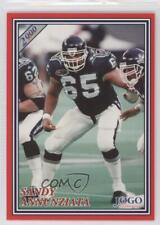 2000 Jogo CFL #47 Sandy Annunziata Toronto Argonauts (CFL) RC Football Card
