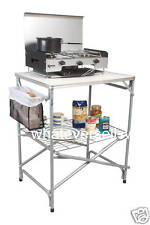 PLEGABLE ACAMPADA BARRERA KITCHEN table soporte jardín campamento tienda toldo