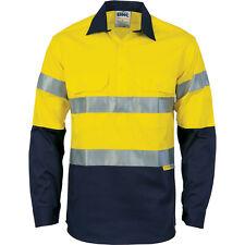 (49) DNC HiVisCool-Breeze Close Front Cotton Shirt