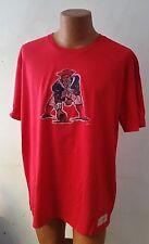 NFL New England Patriots Mens Sizes L / XL / XXL Mitchell & Ness Red TShirt New!