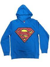 Felpa con cappuccio Bambino Superman vintage Supereroe *15887