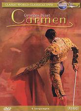 Carmen George's Bizet 2004 DVD New  Region 0 (6 Languages)