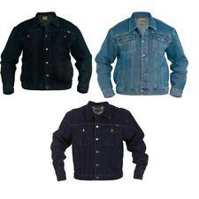 hommes DUKE D555 camionneur King Size riche en coton veste jeans (petit jusqu'à