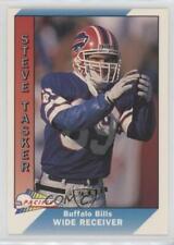 1991 Pacific  32 Steve Tasker Buffalo Bills Football Card ad9dc68e1
