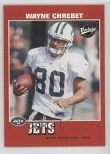 2001 Upper Deck Vintage #116 Wayne Chrebet New York Jets Football Card