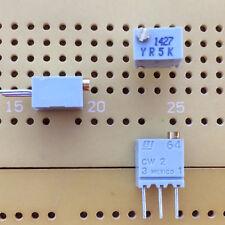 5k ohm Lin 0.25 W 12-Turn di CERMET Trimmer verticale in Alto adj BI 64 Multi Qtà