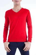 Maglia Daniele Alessandrini Sweater -60% Seta Uomo Rosso FM52116U3200-9 SALDI