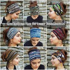 Dreadlock Accessories Wide Head Wrap Head Scarf Scrunch Mens Girls Headband NEW