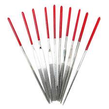10PCS 3 x 140mm Diamond Needle File Coated Riffler Set Jewelry Repair Tools Set