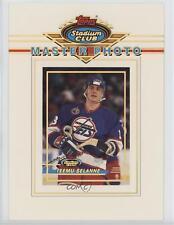 1993-94 Topps Stadium Club Prize Master Photo 4 Teemu Selanne Winnipeg Jets Card