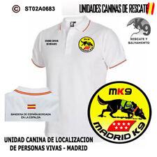 POLOS UNIDADES CANINAS DE RESCATE: UNIDAD CANINA LOCALIZACION DE PERSONAS - MK9