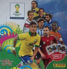PANINI ADRENALYN XL FIFA WORLD CUP BRASILE 2014 scegliere seleziona le carte di base del team