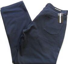 "MISH MASH Trousers Men's Pants Lycra Gaberdine Stretch Navy Size: 28"" - 36"""