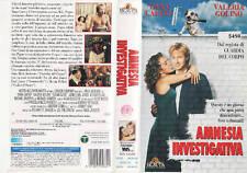 AMNESIA INVESTIGATIVA (1994) VHS