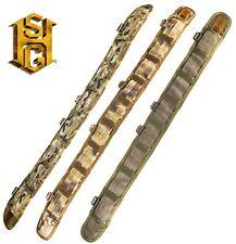 HSGI Slotted SlimGrip Padded Belt-No Cobra-33SPB-MC-CB-OD-BK-WG-HY