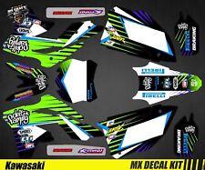 Kit Déco Moto pour / Mx Decal Kit for Kawasaki KXF - Deft F