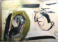 Kalessi huile sur toile peinture expressionniste grecque