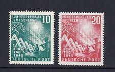 GERMANY  1949 FEDERAL ASSEMBLY Scott 665-66 VF MNH