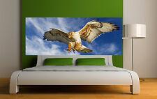 Sticker tête de lit décoration murale Aigle réf 3647 (5 dimensions)