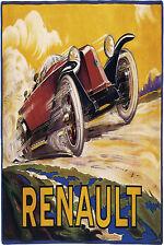 Racing Renault Vintage POSTER.Room Decor.Art Deco.Theater prop design.242