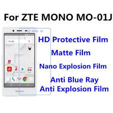 3pcs For  ZTE MONO MO-01J High Quality Nano Explosion/Matte Screen Protector