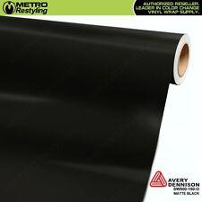 Avery Supreme MATTE BLACK Vinyl Vehicle Car Wrap Film Sheet Roll SW900-180-O