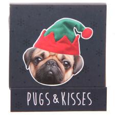 Funky Festive Pug Nail File Matchbook - Great Stocking Filler - 4 Designs