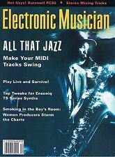 Electronic Musician Reviews KURZWEIL PC88, AQUILA MR2 Wireless, Ensoniq TS-10 12