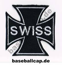 Patch Aufnäher Nr.3 Iron Cross Swiss Colour Aufnäher Patches Embleme