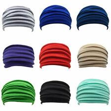 Bandeau Yoga Large Et Extensible Turban Bandeau De Cheveux En Coton éLastique HQ