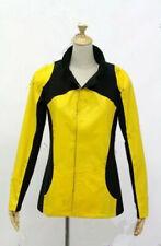 Infamous 2 Cole MacGrath Cosplay Costume Jacket black & yellow: