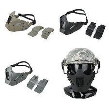 Nouveau Jay rapide Module PDW Mesh Masque tactique Demi Visage Masque Fit AF Casque TMC2623