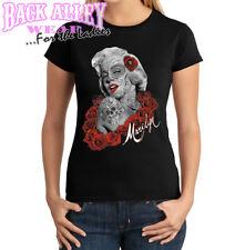 Marilyn Monroe Dia De Los Muertes Ladies Junior Fit SHIRT S-3XL Day of the Dead