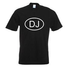 Dschibuti DJ T-Shirt Motiv bedruckt Funshirt Design Print