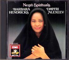Barbara HENDRICKS: NEGRO SPIRITUALS Dmitri Alexeev CD Roun' About The Mountain