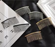 5pcs Inserted Comb Hair Combs DIY handmade Hair Accessories material 20 Teeth