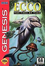 Ecco: The Tides of Time (Sega Genesis, 1994) VINTAGE GAMES