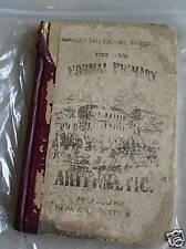 1878 School Book New Normal Primary Arithmetic LOOK