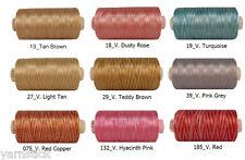 1000m 25g VENUS Machine Embroidery Rayon Thread Ne 120D/2 shine silky ISO9002