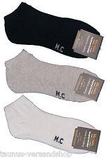 3 Paar Füßlinge Sport Sneaker Socken Füßlinge Gr. 43 - 46 NEU 1,33/Paar