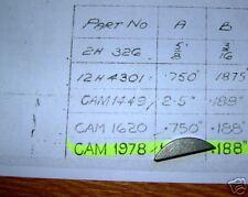 WOODRUFF KEY JAGUAR CRANKSHAFT - CAM 1978J - CAM1978