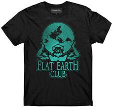 Flat Earth t-shirt, Club t-shirt, Earth is flat, Firmament, NASA lies, Hoax, NWO