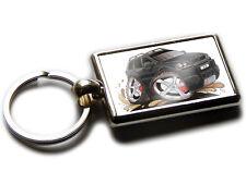 VOLVO XC90 4x4 Car Koolart Chrome Keyring Picture Both Sides