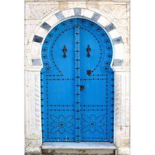 Pegatinas de pared decoración : oriental azul 1385