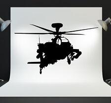 Helicóptero Apache Adhesivos de Pared mural hogar Pegatinas N16